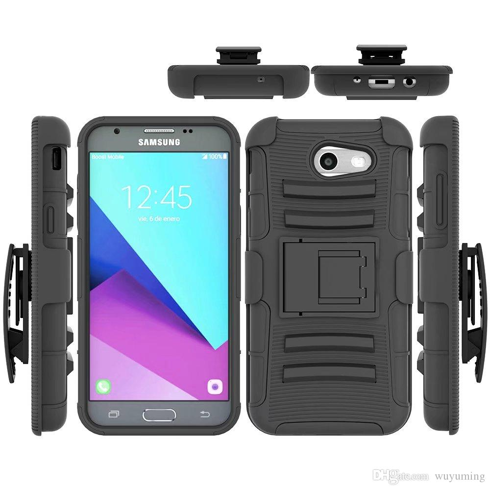 san francisco b59f8 49a91 For Samsung Galaxy J3 2017 US Version Case Hybrid Heavy Duty 3in1 Military  Camo Hard Shockproof Case Belt Clip Stand Cover Case