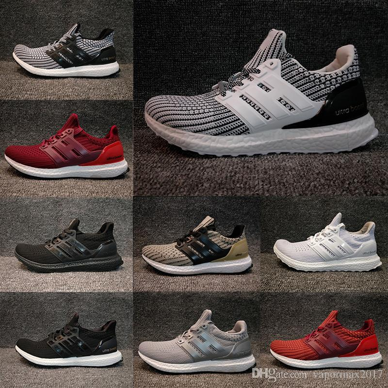 2018 Ultra Boost 4.0 men women Run Shoes Triple Black white oreo blue Ultra Boost Primeknit Shoes sports sneaker EUR 36-45 low cost online outlet best prices the cheapest footlocker for sale 2015 new online 7hEUsZjna