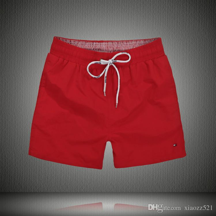 2018 Pferd lqpolos Marke Herren Marke Shorts Sommer Polo Beach Surf Schwimmen Sport Bademode Boardshorts Fitness-Studio Bermuda Basketball-Shorts