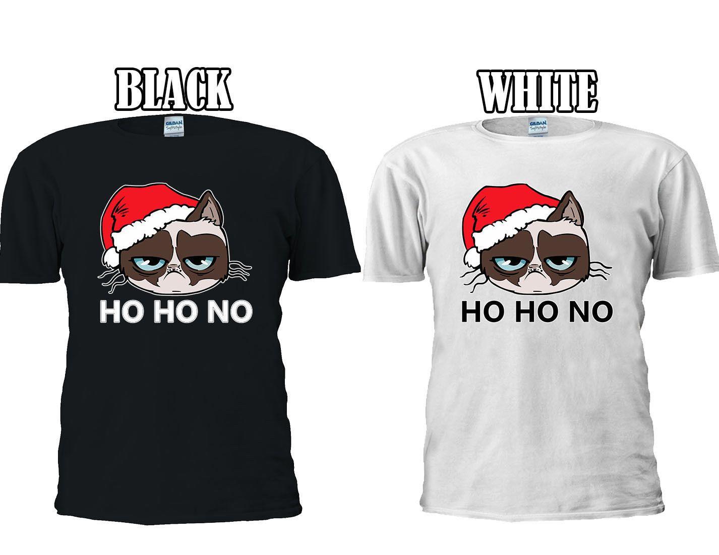 grumpy santa cat christmas xmas crus t shirt baseball vest men women unisex 2664 cartoon t shirt men unisex new fashion t shirt t tee shirts online shopping