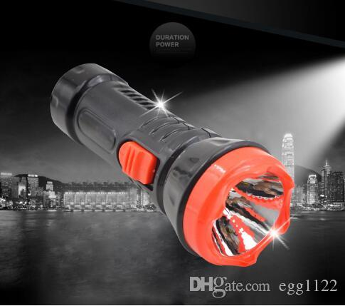 2018 hot selling NN-201 ABS mini rechargeable flashlight for outdoor LED torch portable Black