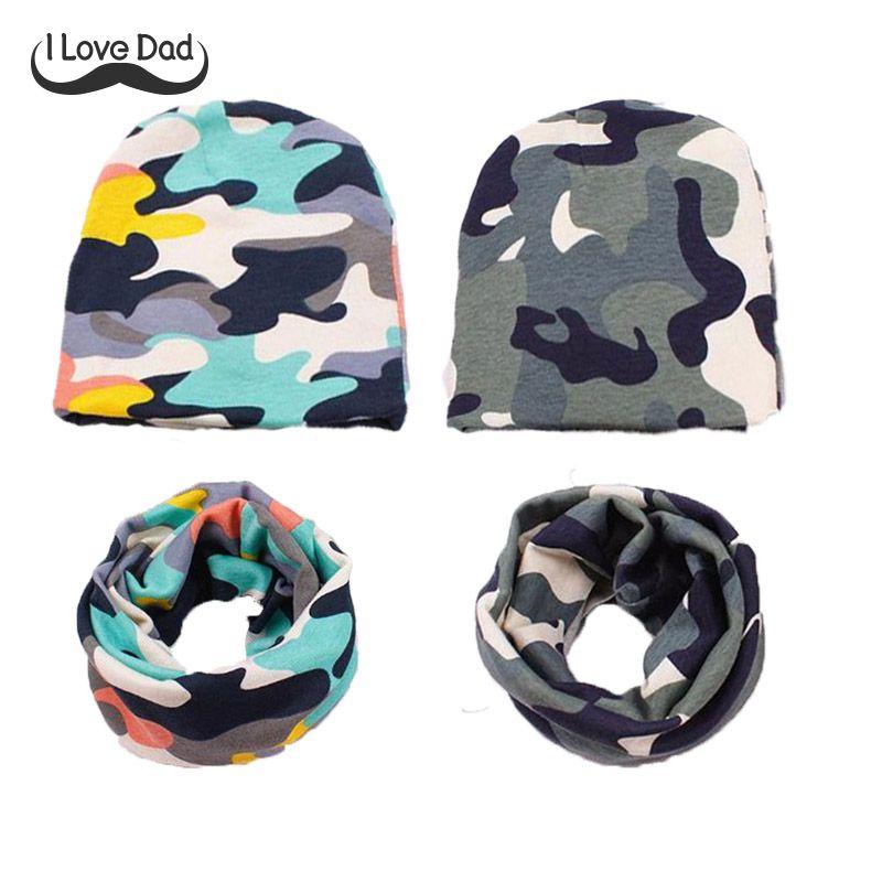 2019 Children s Hat Baby Crochet Hat Baby Winter Beanie Star Prints Neck  Scarf Collar Warmer Cap Set Baby Hood Coon Warm Hat Scarf From Babymom f7818c8fbbd6