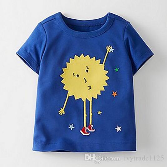 BST29 Novedades Little Maven Kids 100% algodón de manga corta dibujos animados animales de plátano imprimir conjunto de niños niños del verano causales conjunto camiseta + pantalón