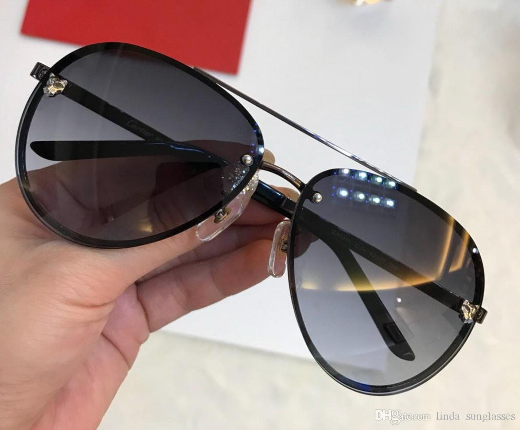 75aabf20ee 2018 Vintage EYEGLASSES FRAMES WOOD SUNGLASSES Wood Half Rim Eyeglasses  Plated Santos Designer Sunglasses New In Box NumC180813 8 Round Glasses  Designer ...