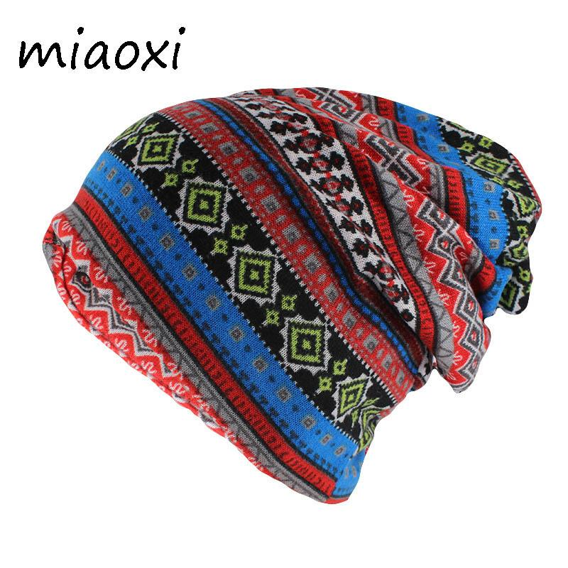 ea637bee255 Miaoxi Hip Hop New Arrival Women Autumn Beanies Skullies Scarf Double Used  Adult Lady Casual Hat Brand Fashion Hats Polyester Baby Hat Crochet Baby  Hats ...
