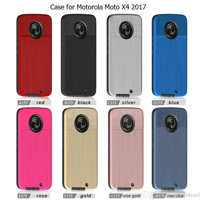 quality design 57783 e2b81 Hybrid Armor Case For Alcatel A3 PLUS 5011 A5 Case For motorola moto X4  2017 For sony Xperia XA1 ultra Brushed Case C