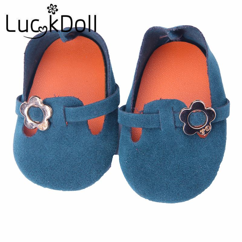 Doll accessories Best gift for children,hot selling popular leather shoes fit 18 inch American girl doll N739-N744