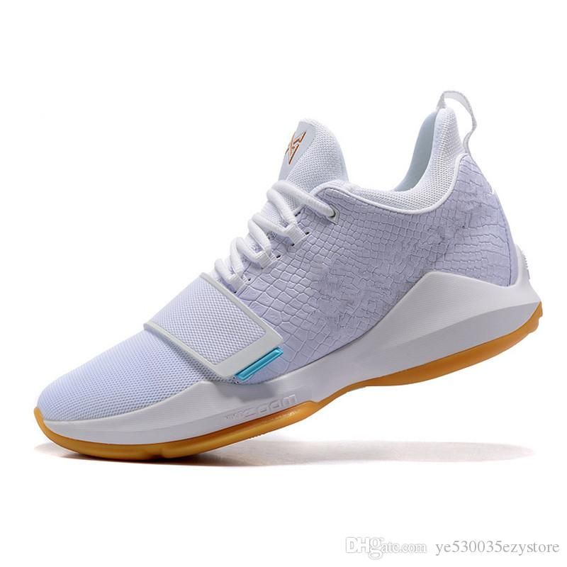 innovative design 38ac8 fdae4 Paul George PG1 Men Basketball Shoes Athletics Sneakers PG 1 Los Angeles  Home Sport Outdoor Size 7-12 High Quality