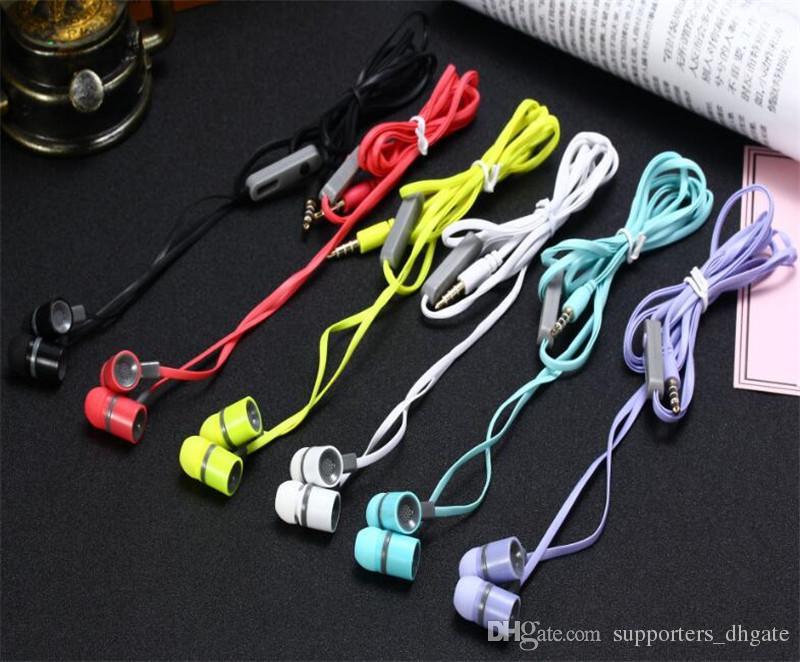 BKEV-122 elmcoei Earphone Sports Mic Headphones In-Ear 3.5mm Stereo headset hands free phone calls earphones with retail package for note8