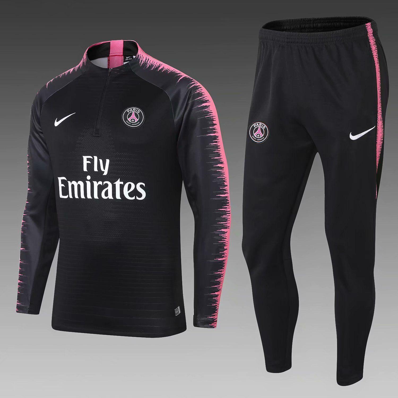 bc45257649c13 New Psg Tracksuits VERRATTI 18 19 Paris Saint Germai Sportswear Suit ...