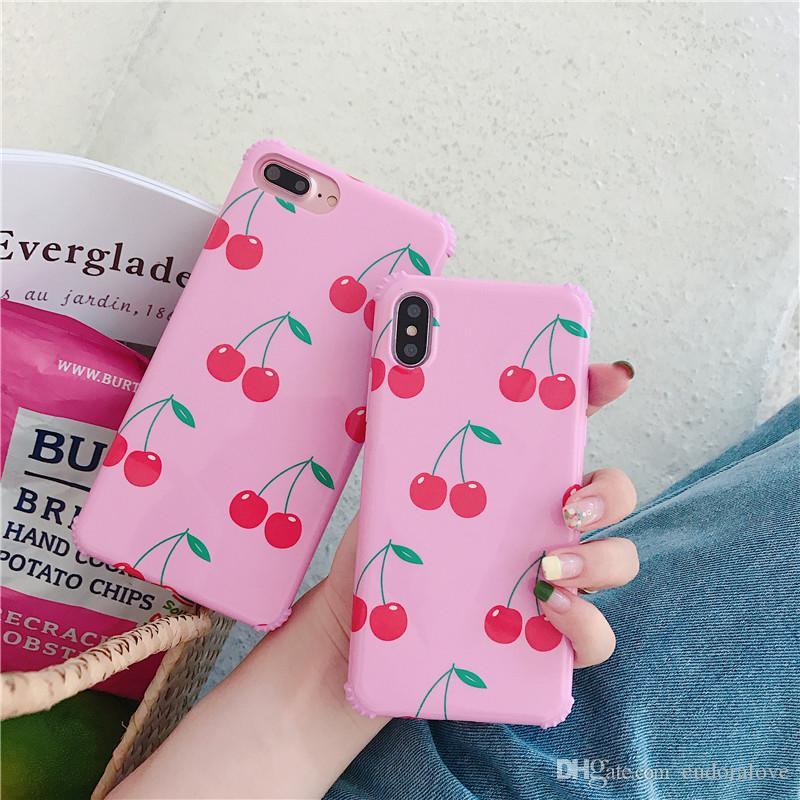 coque iphone 8 plus rose cerise