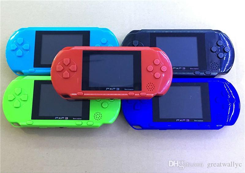 16 비트 PXP3 아이를위한 AV 케이블 비디오 게임 플레이어와 레트로 휴대용 휴대용 게임 콘솔