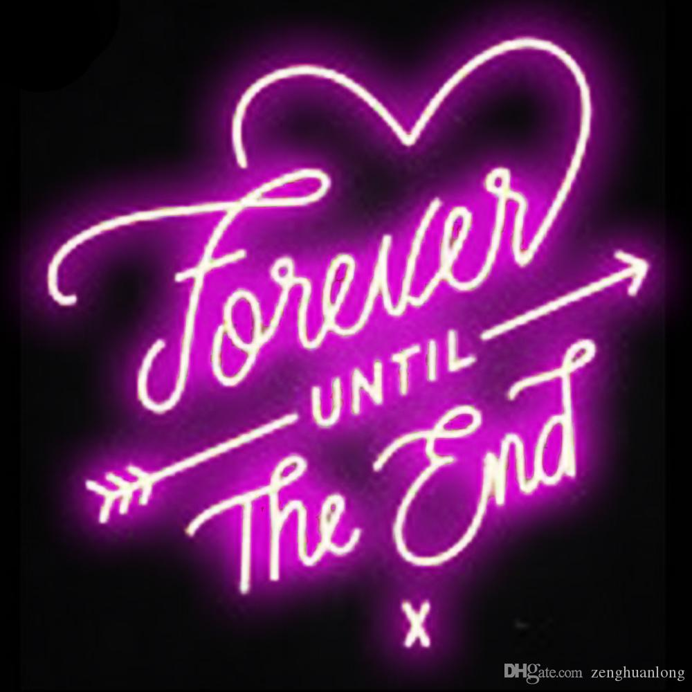 2019 Neon Signs Gift Love Forever Beer Bar Pub Store Party