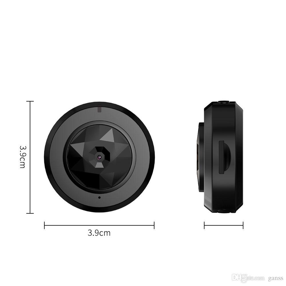 Videocamera wireless DVR videocamera HD mini Wifi mini videocamera iPhone / telefono Android / visualizzazione remota con rilevamento del movimento notturno