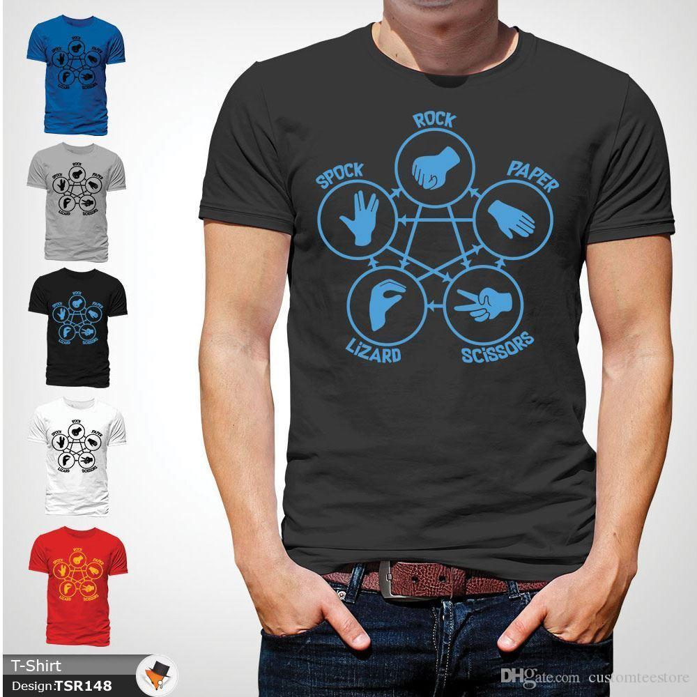 Imgenes De Rock Paper Scissors Lizard Spock T Shirt Uk Cuts Covers Crushes 894410 Tostadora Source Big Bang Theory