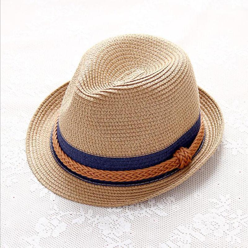33cd0cbe4a3 Summer Straw Ladies Hats Women Men Golf Jazz Cap Panama Sun Visor Caps  Saves Beach Hat Headband Outdoor Camping Travel Swimming UK 2019 From  Teawulong