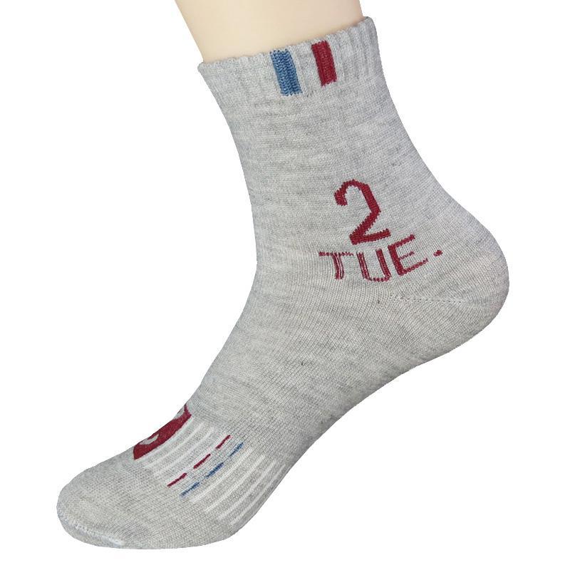 6eafc07b9975 Men 'S Cotton Socks Casual Mens Socks Breathable Sweat Personalized ...