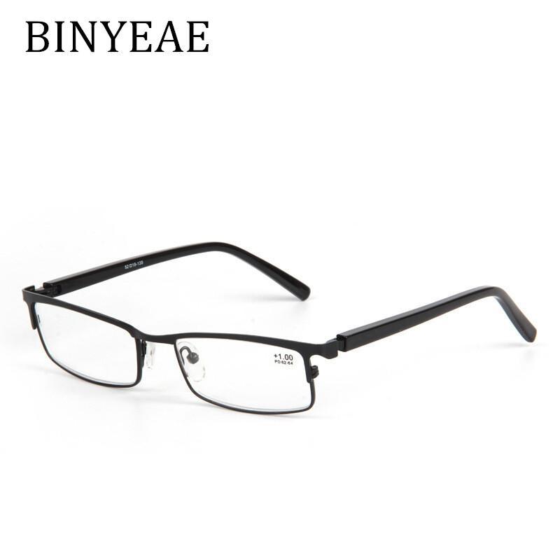 7582293c196a8 Compre BINYEAE Qualidade Óculos Moda Liga Primavera Dobradiça Anti ...