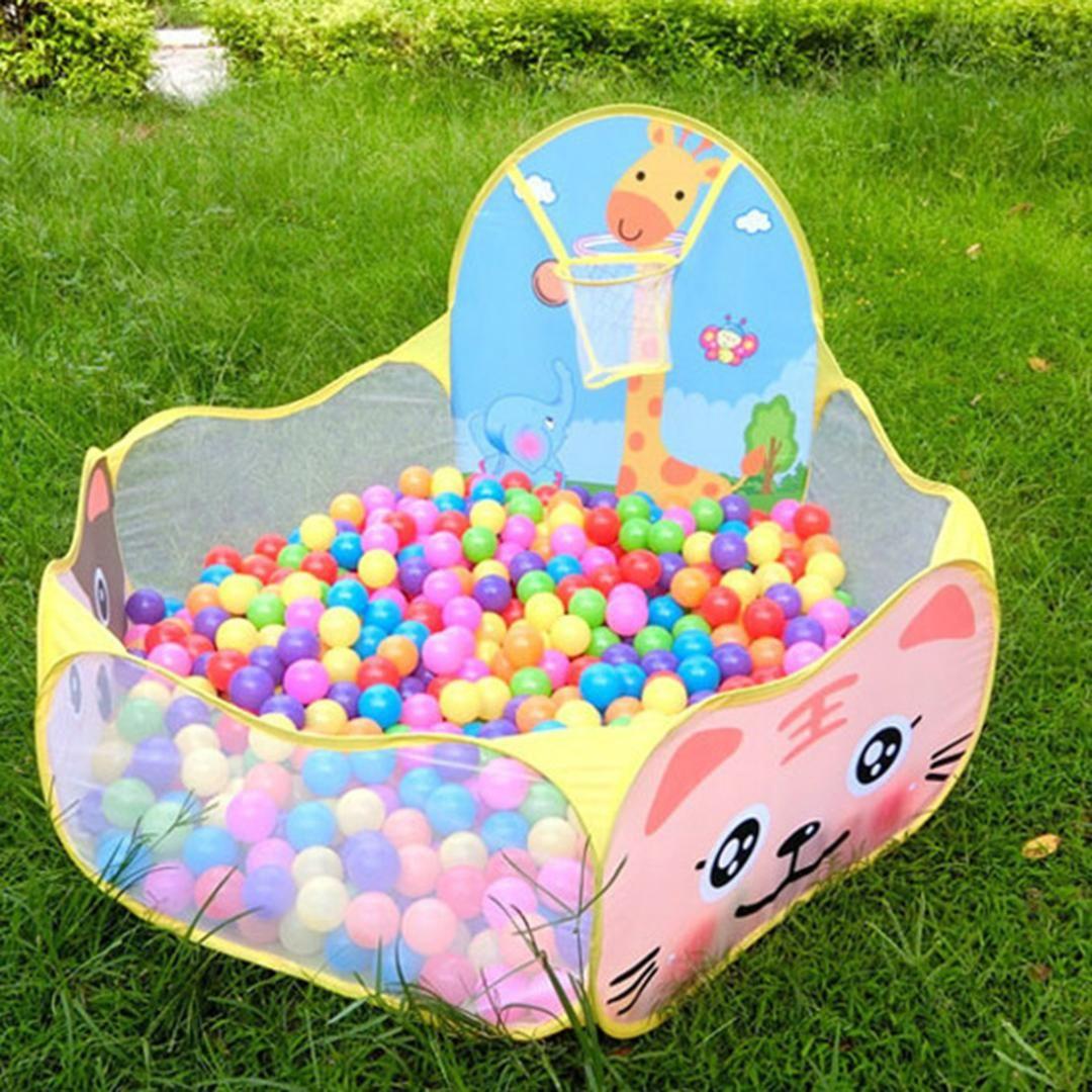 96e35cd24b Compre Eco Friendly Oceano Bola Tenda Piscina Onda Bola Crianças Bebê  Engraçado Toys Infantil Baby Basket Piscina T30 De Curd