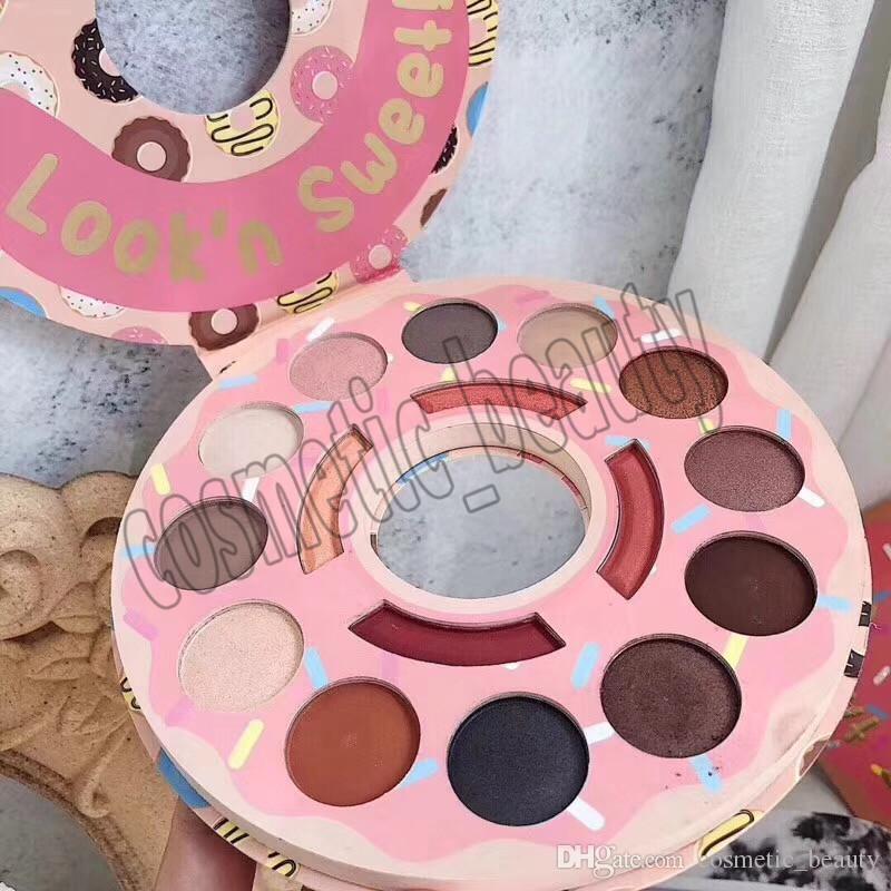 2018 Newest Donut Shop Eyeshadow Palette Eyeshadow Highlight