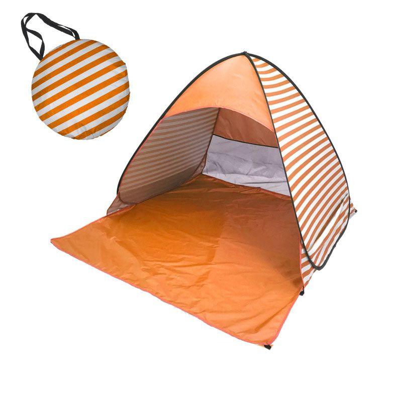 Hiking Camping Tents Sun Visor Auto Pop Up Canopy Tent Ultraviolet Proof Beach Shelters Gazebo Portable Free Bulid Stripe Designer 49hy ZZ