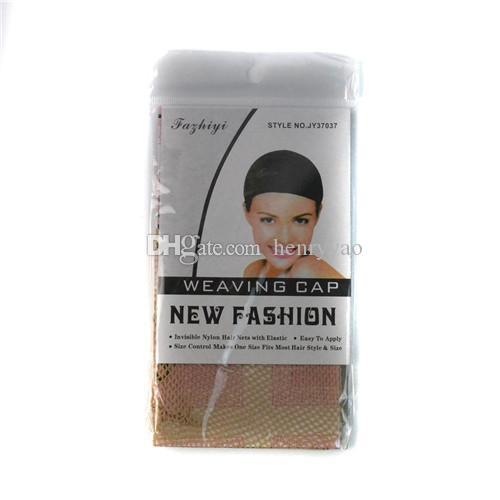 가발 모자 헤어 액세서리 도구 합성 탄성 그물 가발 여성을위한 저렴한 블랙 베이지 내열성 머리카락