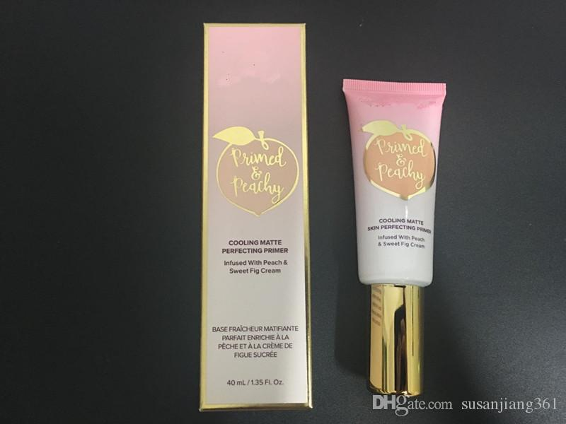 STOCK New TF Primed PEACHY COOLING MATTE PERFECTION PRIMER NEW Makeup Face Cosmetics Primed and Poreless DHL FREE GIFT