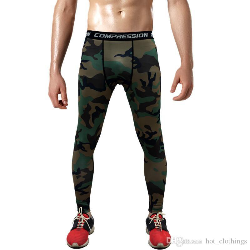 799da203b5 2019 Hot Sale Men'S Sports Leggins Pro Compression Pants Camouflage Print High  Elastic Running Tights Basketball Leggings Plus Size 3XL From  Hot_clothings, ...
