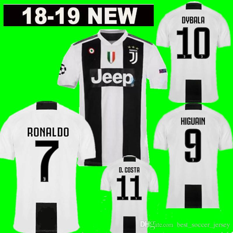 51ba9d54949 ... order 2018 2019 juventus ronaldo 7 soccer jersey higuain 9 dybala 10  mandzukic 17 bernardeschi 33