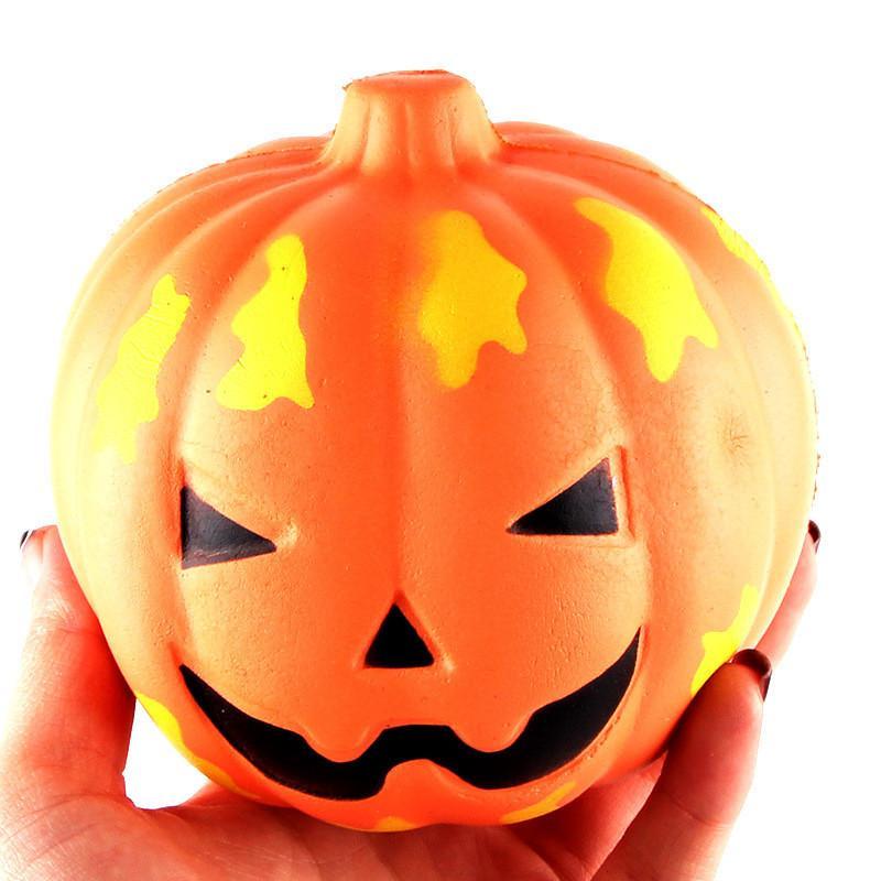 Facce Zucche Di Halloween.Slow Rise Pu Sorridente Faccia Zucche Di Halloween Squishy Charm Ciondolo Per Cellulare Cinghia Portachiavi Ornamenti Per Bambini Giocattoli