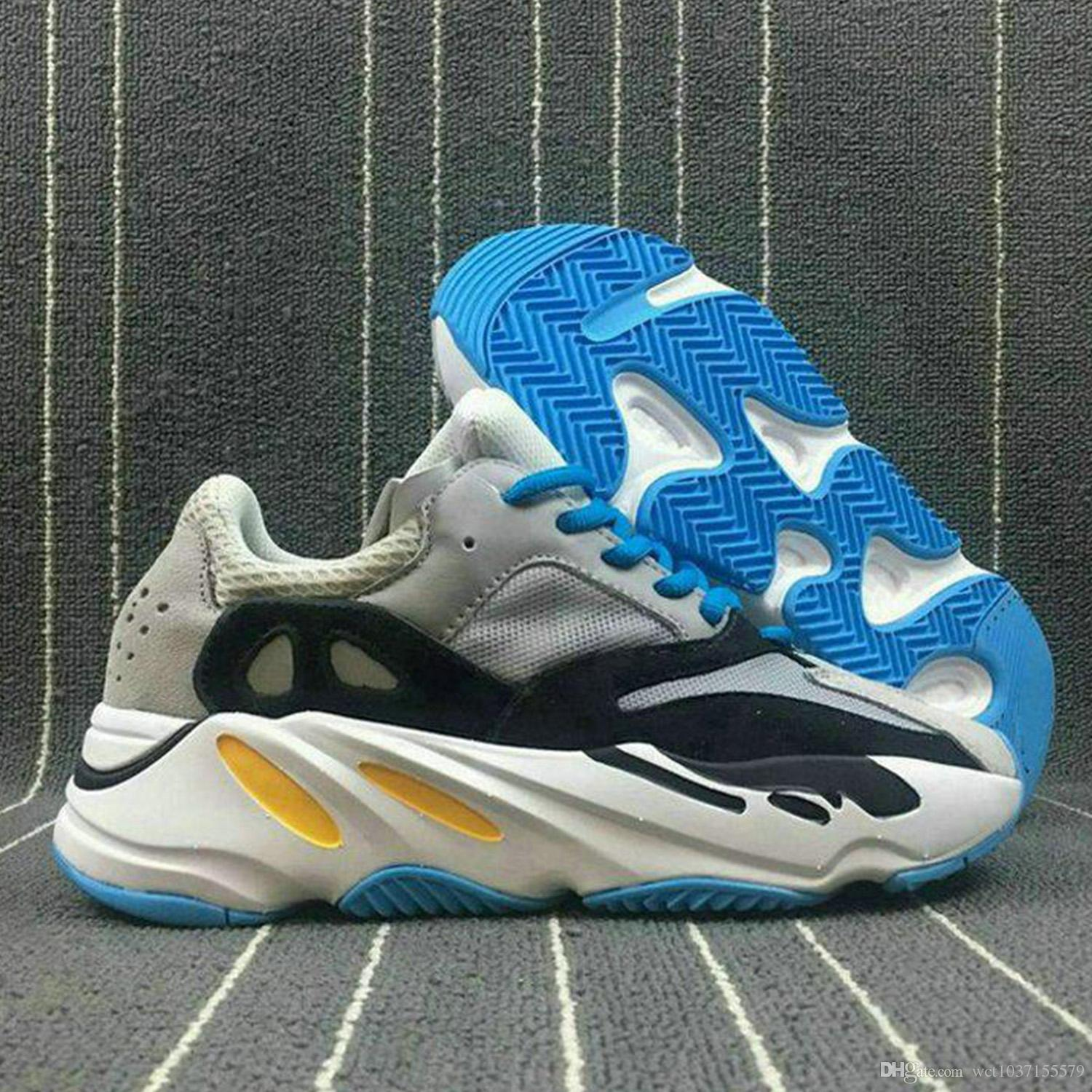 4d3ba2c99 700 Runner 2018 New Kanye West Boost Wave Runner 700 Boost Mens Women Boost  Sports Running Sneakers Shoes Eur 36 46 Shoe Shops Running Shoe From ...