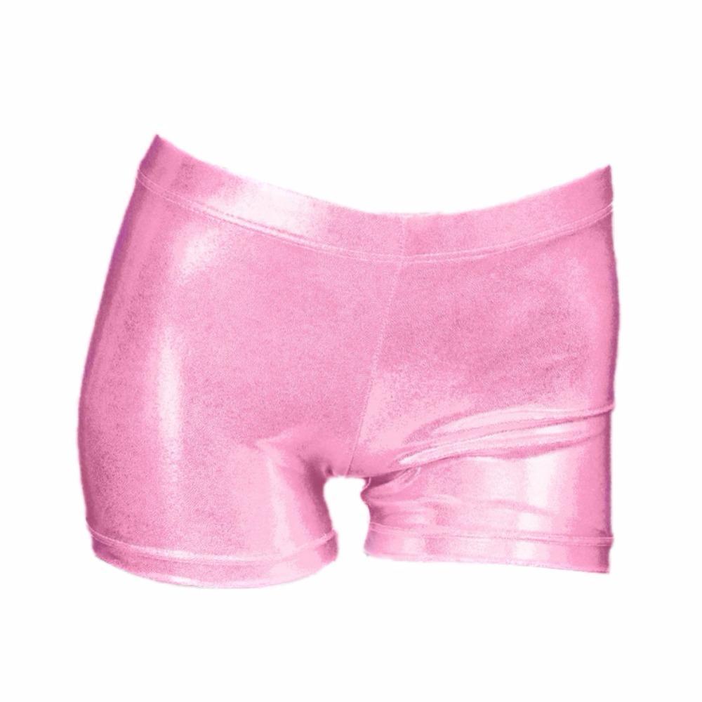 Compre Nova Alta Qualidade Brilhante Body Suit Ballet Ginástica ... b3bac2d0d6c58