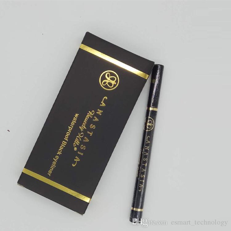 NYX @ stasia 화장품 메이크업 방수 검은 액체 아이 라이너 아이 라이너 연필 maquiagem long langing 메이크업