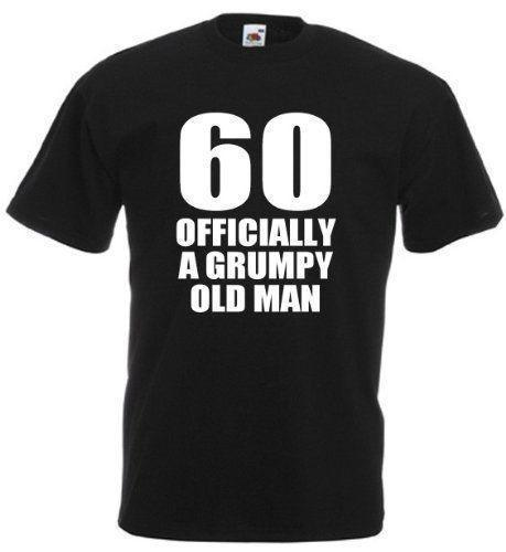 60 Officially T Shirt Mens 60th Birthday Gifts Presents Gift Ideas For Men Dad Cool Tee Funny Graphic Shirts From Jc07 1269