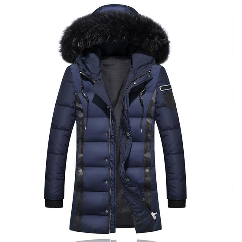 a4da46635f07 Add New Brand Clothing Jackets Thick Keep Warm Men Down Jacket High Quality  Fur Collar Hooded Down Jacket Winter Coat Male Canada 2019 From Hongxigua,  ...