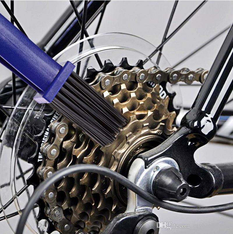 tank pad decalques brushs ciclismo motocicleta bicicleta corrente de pedivela escova de limpeza cleaner ferramenta de limpeza para honda kawasaki suzuki yamaha