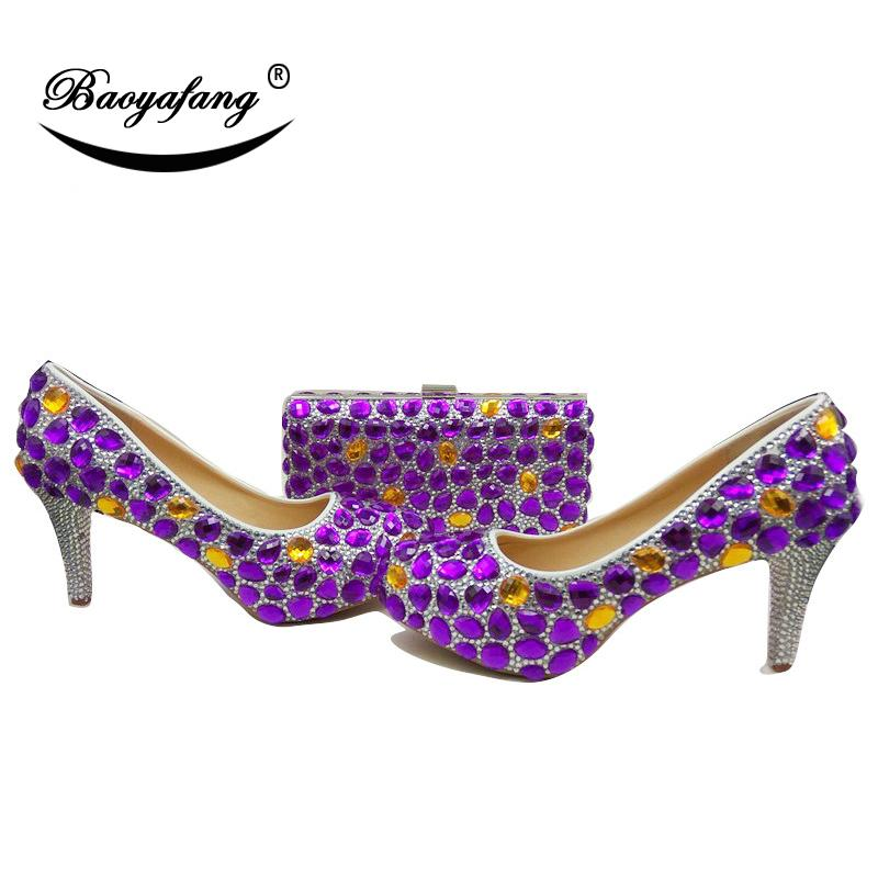 7865346ab560 Wholesale New Women Wedding Shoes And Bags High Heels Platform Shoes ...