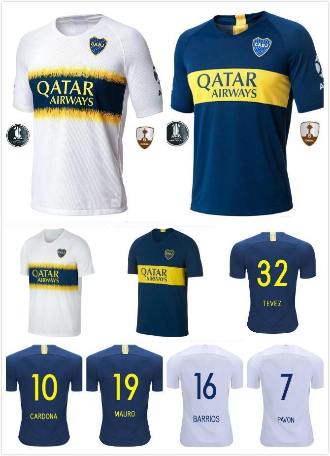 Tailandia AAA Calidad 2018 2019 Superliga Argentina Boca Juniors Camisetas  De Fútbol Nuevo   5GAGO CARLITOS TEVEZ HOME AWAY Uniformes De Fútbol Por ... 64efb7fa52f6a