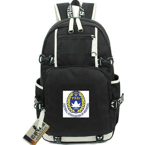 PSSI Backpack Indonesia Team Day Pack IDN Football School Bag Soccer  Knapsack Laptop Rucksack Sport Schoolbag Out Door Daypack Backpacks For  College ... ed096e9c7f00