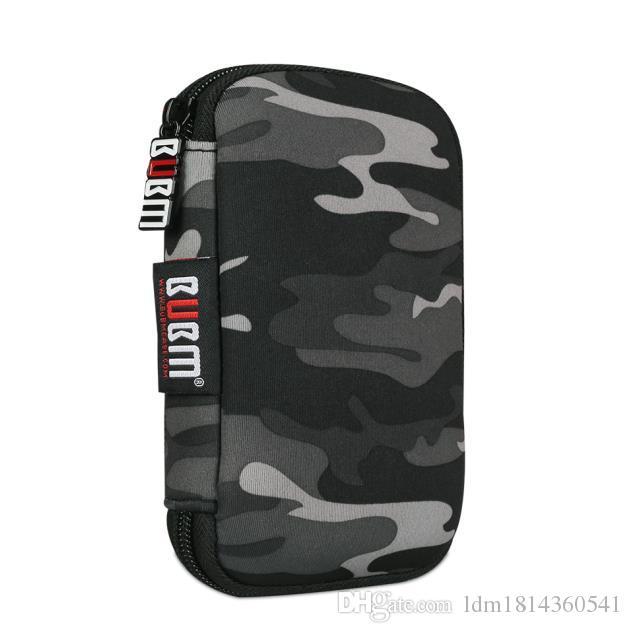 BUBM Colorful Large capacity Travel Digital Accessaries Case USB Flash Hard Drives Case U Disk Organizer Bag