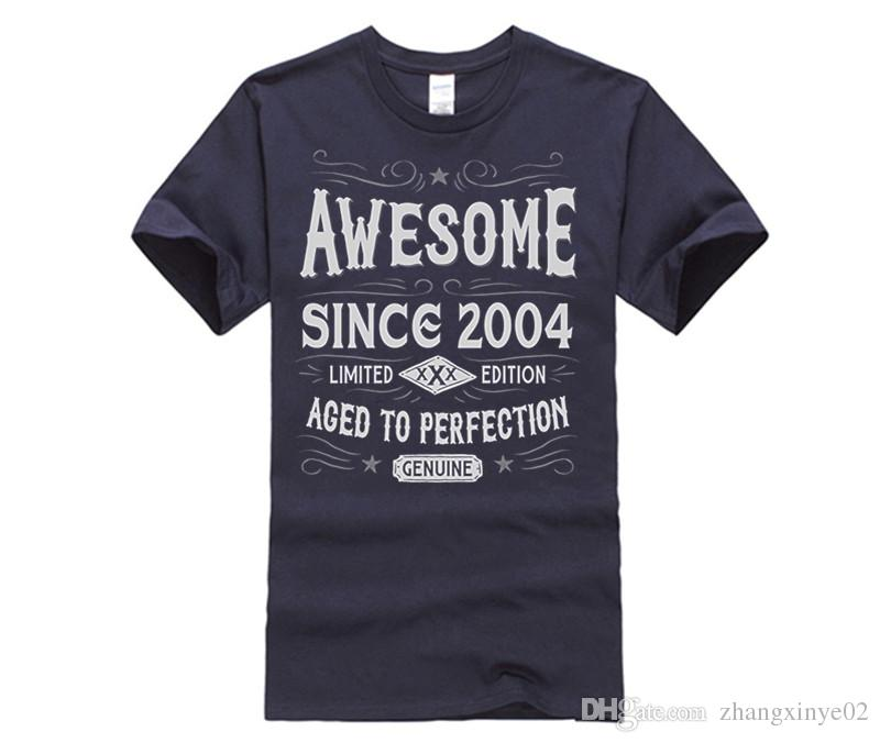 13th Birthday Gift T Shirt Awesome Since 2004 Design 1 Good Sites From Zhangxinye02 1421