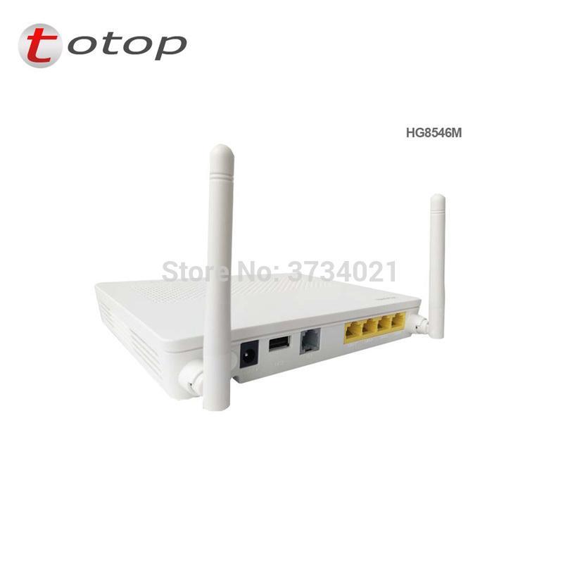 Second hand Huawei GPON ONU HG8546M with 4*LAN ports 1*phone port wifi, 99%  new HG8546M GPON ONT