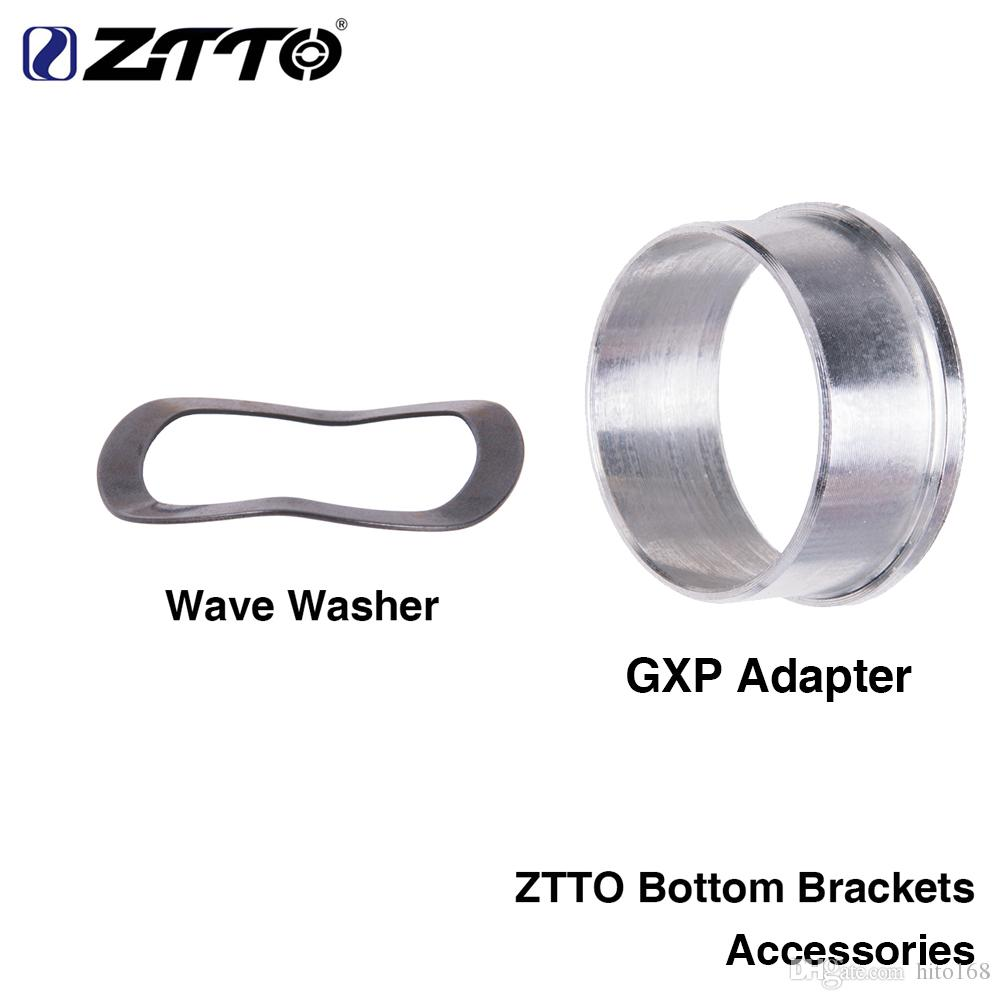 ZTTO Bottom Brackets accessories GXP Adapter wave washer 0.5mm for Road Mountain bike BB GXP 24 22mm chainset