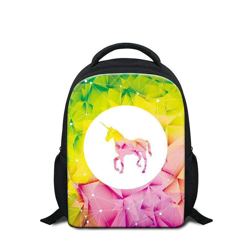 9f0262709b1f The Good Unicorn Kids Backpack 12 Inch Small Cartoon Kindergarten School Bags  Bookbag Animal Printing Children Shoulder Bagpacks Girl Rugzak Cheap  Handbags ...