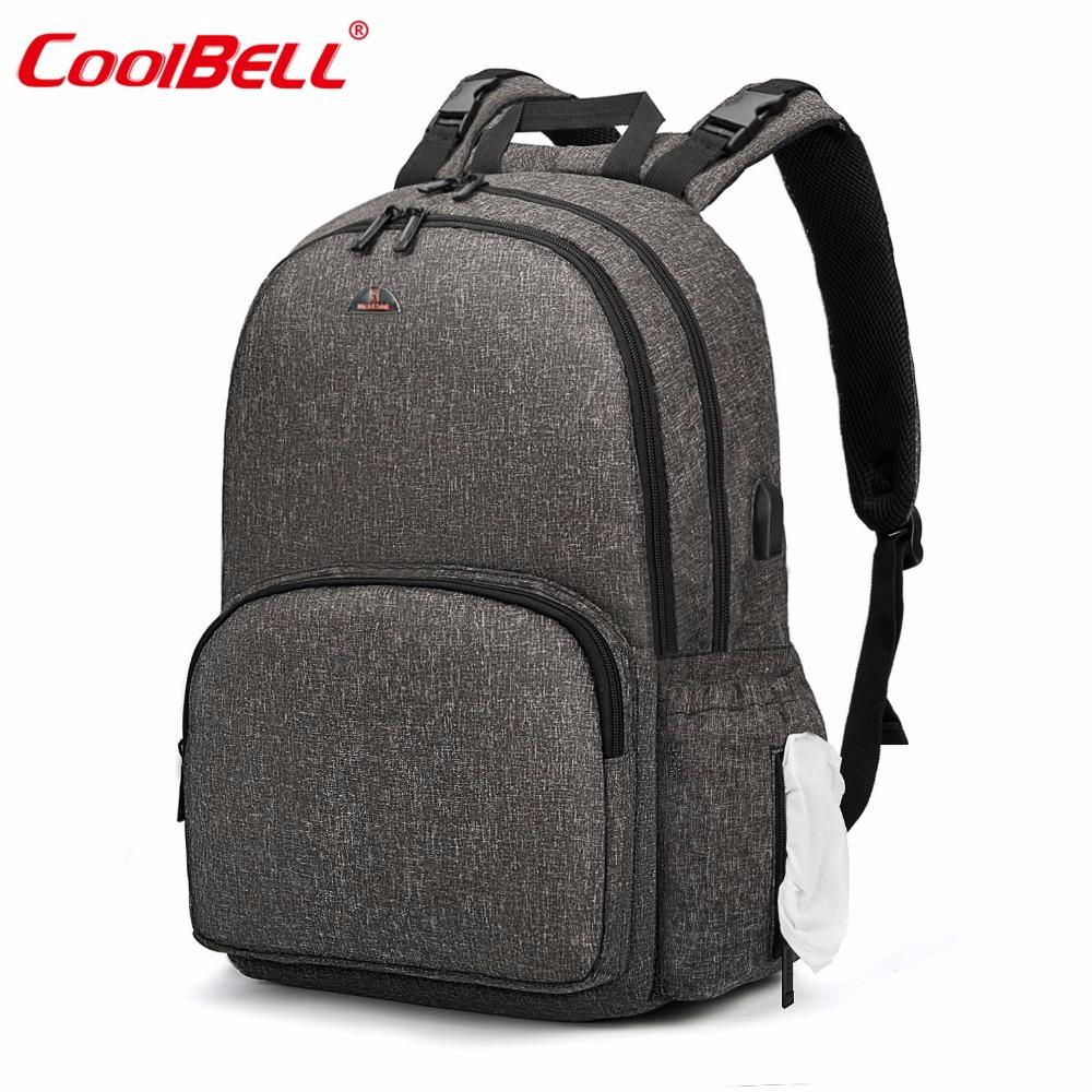 2019 2018 Fashion Maternity Bag Baby Diaper Bag Multifunctional Nappy  Backpack With Changing Pad Casual Travel Backpack For Baby From Localking 2da62414ff210