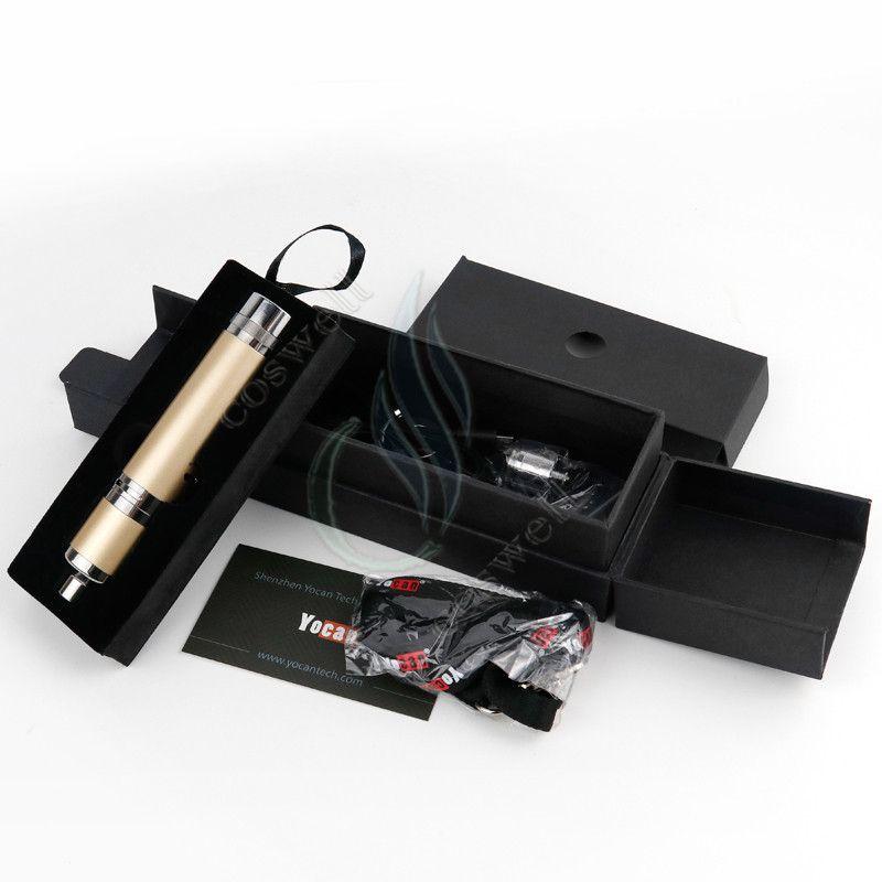 Yocan Evolve Plus XL Wachsverdampfer-Kit Herbal Dry Herb Herbal QUAD-Spulen Abnehmbare, integrierte Silikondose Vape Pen e cigs cigarettes Vapor