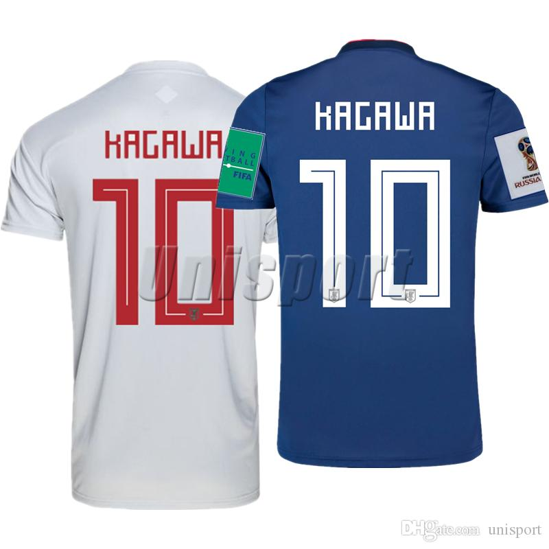 dad6bf80cab 2019 World Cup 2018 Japan Home Away Men S Soccer Jerseys Honda Kagawa  Futbol Camisa Football Camisetas Shirt Kit Maillot From Unisport