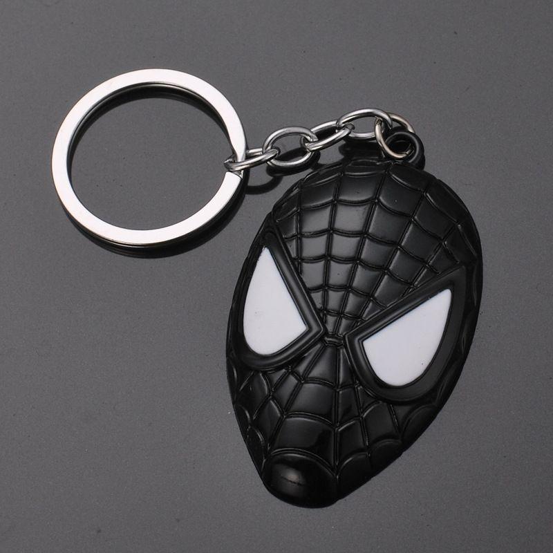 d75eab0896cf40 Großhandel Superman Iron Man Superheld Spiderman Captain America Schlüsselanhänger  Mini Action Figure Spielzeug LED Licht Schlüsselanhänger Ring Mode Drop ...