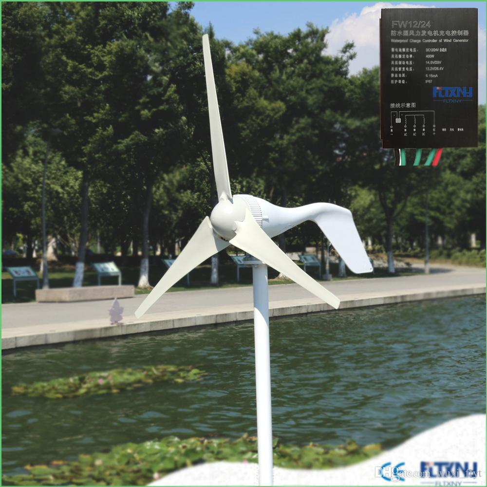 3 blades and 5 blades aerogenerator can supplement conventional energy sources 12V and 24V