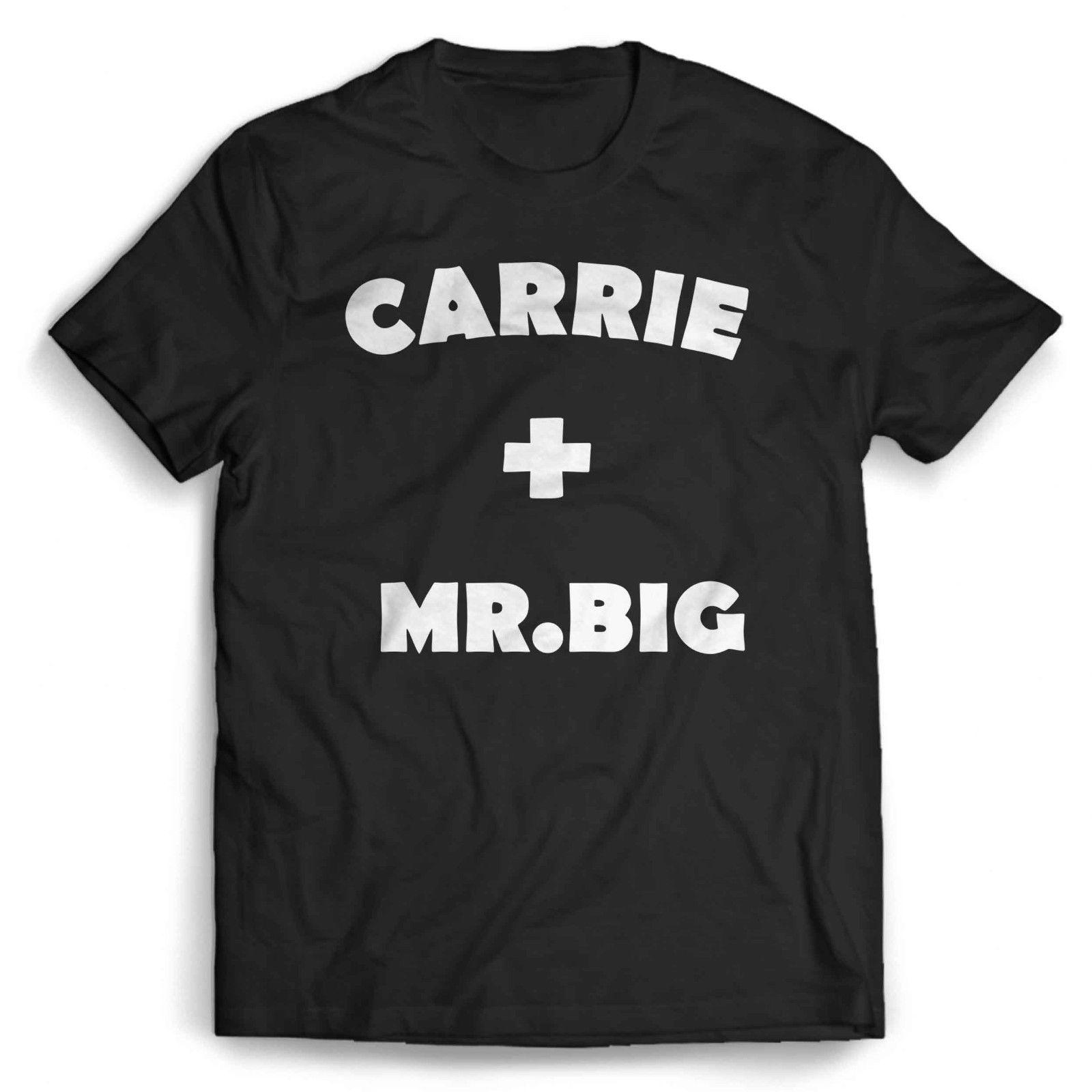 0335e2baf1f Carrie And Mr Big Man S T Shirt O Neck Fashion Printed Mens Cotton T Shirt  24 Hour Tee Shirts T Shirts T Shirts From Guccitshirts